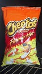 Cheetos Corn Puffs Crunchy Hot  8 oz