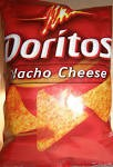 Doritos Tortilla Chips Nacho Cheese  8 OZ BAG