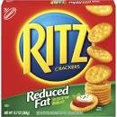 Nabisco Ritz Crackers Reduced Fat  12.5 OZ BOX