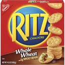 Nabisco Ritz Crackers Whole Wheat  12.9 OZ BOX