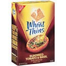 Nabisco Wheat Thins Sundried tomatoes and Basil  9 OZ BOX