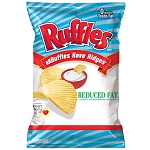 Ruffles Potato Chips Reduced Fat  6.5 OZ BAG
