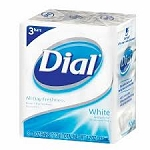 Dial Bath Soap White 3 Pack