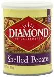Diamond Shelled Pecans  10 OZ CAN