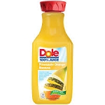 Dole 100% Pineapple Orange Banana Juice  64 OZ CTN  64 OZ CTN