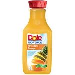 Dole 100% Pineapple Orange Juice  64 OZ CTN  64 OZ CTN