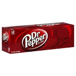 Dr Pepper- 12 pack cans  12 pack