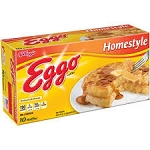 Eggo Waffles Homestyle - 10ct  12 OZ BOX