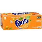 Fanta Soda Orange - 12 pk  12 pack