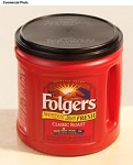 Folgers Coffee Classic Roast - Can  48 oz  48 oz