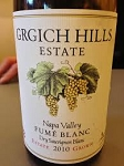 GRGICH- HILLS FUME BLANC Nappa Valley California  750 ML