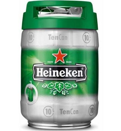 Heineken Keg Can 5 Litre 5 Litres