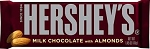 Hershey's Milk Chocolate with Almonds  1 BAR