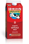 Horizon Organic Milk Whole  .5 gal