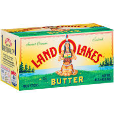 Land O Lakes Butter Salted Sticks - 4  1 lb box