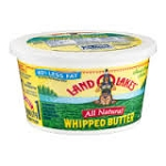 Land O Lakes Butter Sweet Salted Whipped  8 oz tub