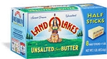 Land O Lakes Butter Unsalted Sticks - 4 qrts  1 lb box