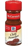 McCormick Chili Powder  2.5 OZ JAR