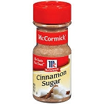 McCormick Cinnamon Sugar  3.62 OZ JAR