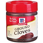 McCormick Ground Cloves  .9 OZ JAR