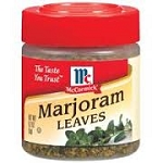 McCormick Marjoram Leaves  .2 OZ JAR