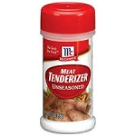 McCormick Meat Tenderizer Unseasoned  3.37 OZ JAR