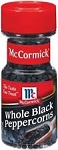 McCormick Whole Black Peppercorns  4.25 OZ JAR