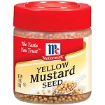 McCormick Yellow Mustard Seed  1.4 OZ JAR