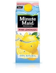 Minute Maid Pink Lemonade  64 OZ CTN  64 OZ CTN