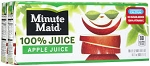 Minute Maid Juice 100% Apple - 8 ct  6.75 OZ BOX