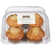 MUFFINS 4PK COMBO  4 Pieces