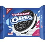Nabisco Oreo Cookies Double Stuff  18 OZ PKG