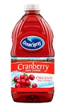 Ocean Spray Juice Cocktail Cranberry  64 OZ BTL