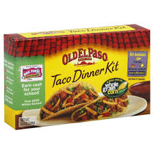 old el paso taco dinner kit instructions