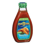 Ortega Thick and Smooth Taco Sauce - Red Chile Mild  8 OZ BTL