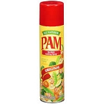 Pam Cooking Spray Original Vegetable Fat Free  5 OZ CAN  5 OZ CAN