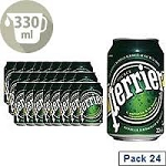 Perrier Sparkling Water - 24 cans  33 cl
