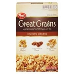 Post Great Grains Crunchy Pecan  11.5 OZ BOX