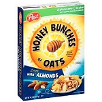 Post Honey Bunches Of Oats With Almonds  16 OZ BOX