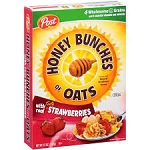 Post Honey Bunches Of Oats With Strawberries  13 OZ BOX