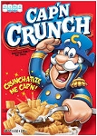 Quaker Cap'n Crunch  16 OZ BOX