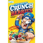 Quaker Cap'n Crunchberries Cereal  15 OZ BOX