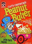 Quaker Cap'n Crunch Peanut Butter Crunch  14 OZ BOX