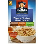 Quaker Instant Oatmeal Favorites Variety  10 PKT BOX