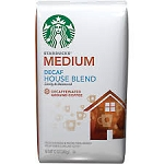 Starbucks Coffee Decaffeinated House Blend Mild (Ground)  12 OZ BAG  12 OZ BAG