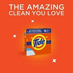 Tide Powder Detergent 31 Uses  50 OZ BOX