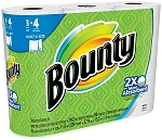 Bounty Quilted Paper Towels White  3 CT PKG