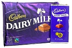 Cadbury Chocolate Bar Dairy Milk  Size  4.5 OZ BAR
