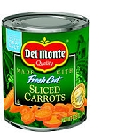 Del Monte Sliced Carrots  14.5 OZ CAN