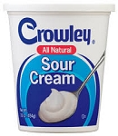 Crowley Sour Cream  16 OZ TUB